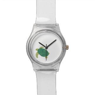 Ich bin ein Meeresschildkröteretter Armbanduhr