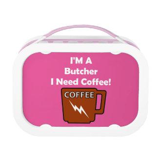 Ich bin ein Metzger, ich benötige Kaffee! Brotdose