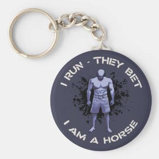 Ich bin ein Pferd Schlüsselanhänger