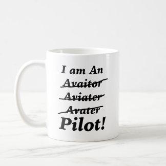 Ich bin ein Pilot Kaffeetasse