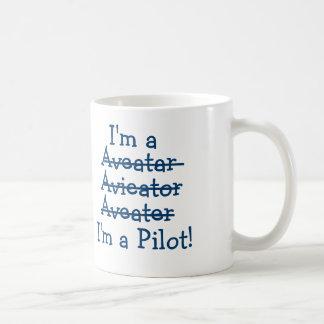 Ich bin ein Pilot! Tasse