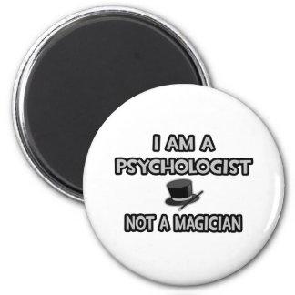 Ich bin ein Psychologe… nicht ein Magier Runder Magnet 5,1 Cm