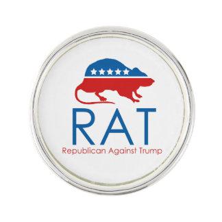 Ich bin ein R.A.T: Republikaner gegen Trumpf Anstecknadel
