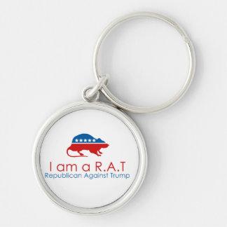 Ich bin ein R.A.T: Republikaner gegen Trumpf Schlüsselanhänger