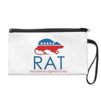 Ich bin ein R.A.T: Republikaner gegen Trumpf Wristlet Handtasche