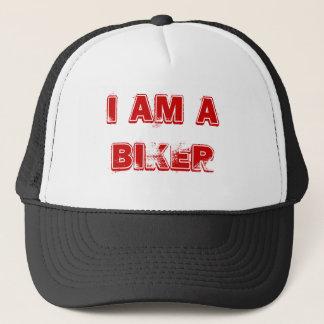 Ich bin ein Radfahrer Truckerkappe