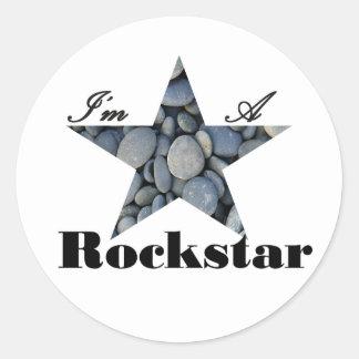 Ich bin ein Rockstar Stickers