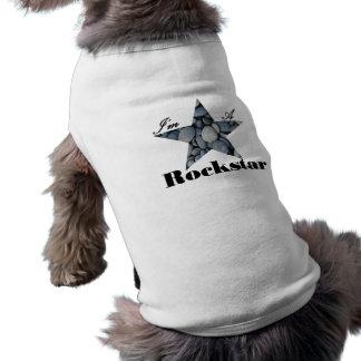 Ich bin ein Rockstar Haustierbekleidung
