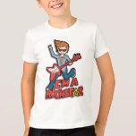 Ich bin ein rockstar Jungen-T - Shirt