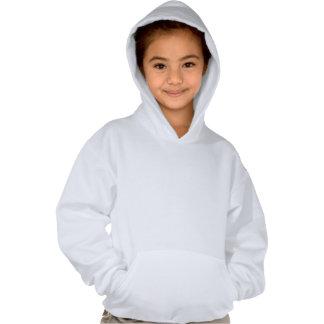 Ich bin ein schneidiges Mädchen Kapuzensweatshirts