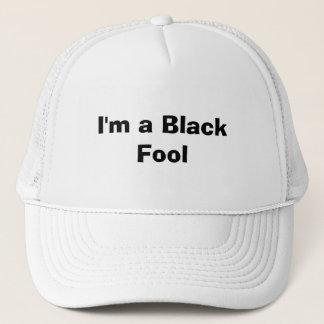 Ich bin ein schwarzer Dummkopf Truckerkappe