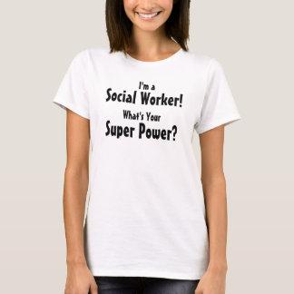 Ich bin ein Sozialarbeiter! Was ist Ihr T-Shirt