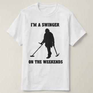 Ich bin ein Swinger auf dem Wochenenden-T - Shirt