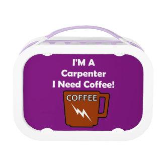 Ich bin ein Tischler, ich benötige Kaffee! Brotdose