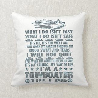 Ich bin ein Towboater, bis ich die Kissen