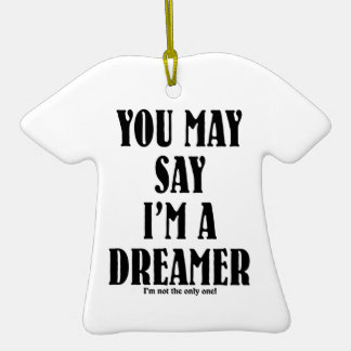 Ich bin ein Träumer Ornamente