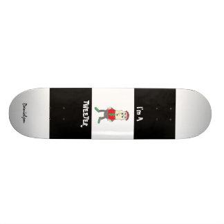 Ich bin ein Tweeter-Skateboard Personalisiertes Skateboarddeck