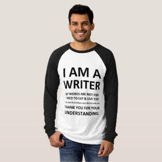 Ich bin ein Verfasser-T-Stück T-Shirt