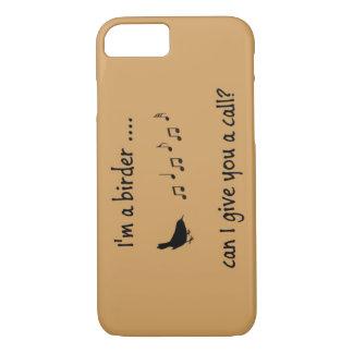 Ich bin ein Vogelbeobachter-Zellen-Telefon-Kasten iPhone 8/7 Hülle