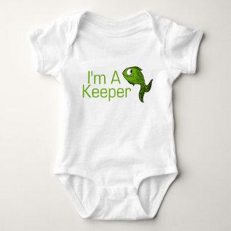 Ich bin ein Wächter Baby Strampler
