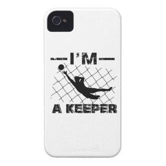 Ich bin ein Wächter - Fußball-Torhüterentwürfe iPhone 4 Case-Mate Hüllen