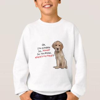 Ich bin ein Welpe Sweatshirt
