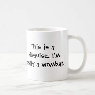 Ich bin ein wombat tasse