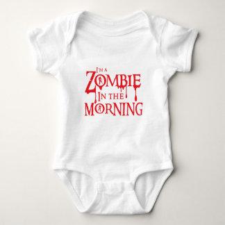 Ich bin ein ZOMBIE morgens Baby Strampler