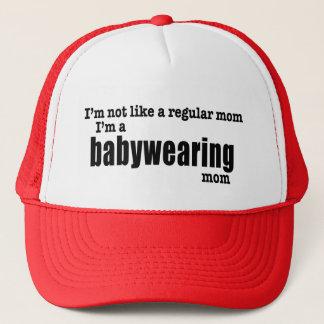 Ich bin eine Babywearing Mamma - Truckerkappe