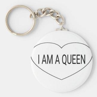 Ich bin eine Königin Schlüsselanhänger