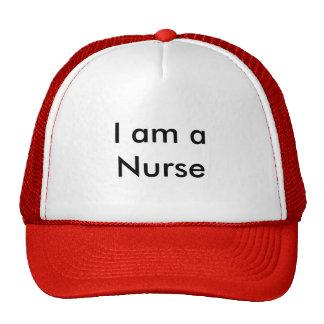Ich bin eine Krankenschwester Retrokultmützen