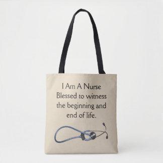 Ich bin eine Krankenschwester-Medium-Tasche Tasche