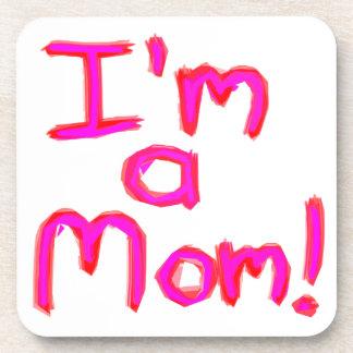 Ich bin EINE MAMMA! Getränkeuntersetzer