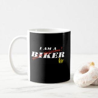 Ich bin eine Radfahrer-Tasse Kaffeetasse