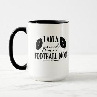 Ich bin eine stolze Fußball-Mamma-Kaffee-Tasse Tasse