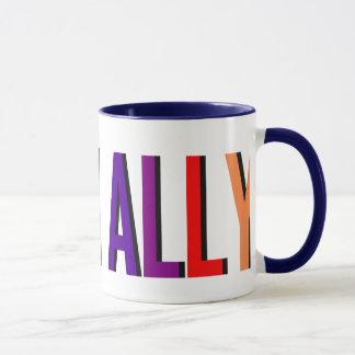 Ich bin eine Verbündet-mutige Wecker-Tasse Tasse