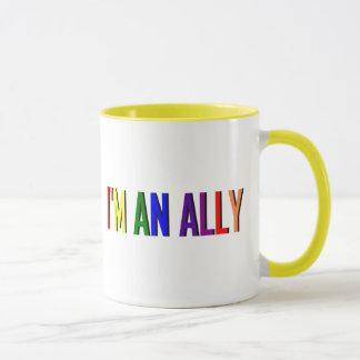 Ich bin eine Verbündet-Wecker-Tasse Tasse
