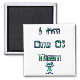 Ich bin eins von ihnen quadratischer magnet