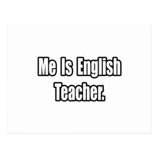 Ich bin Englischlehrer Postkarte