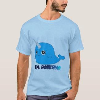 Ich bin entzückendes Narwhal Mannt-stück T-Shirt