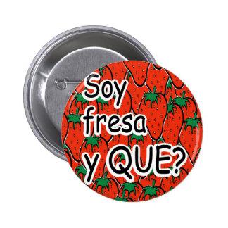 ich bin Erdbeere Buttons