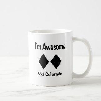 Ich bin fantastischer Ski Colorado Kaffeetasse