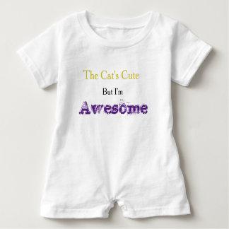 """""""Ich bin fantastischer"""" Slogan-Baby-Spielanzug Baby Strampler"""