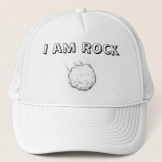 Ich bin Felsen Truckerkappe