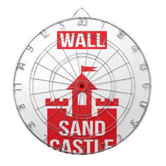 Ich bin Gebäude ein Sand-Schloss - Wahl 2016 Dartscheibe