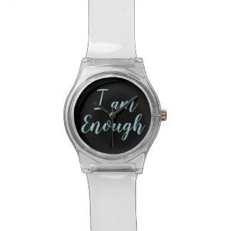 Ich bin genügend Uhr