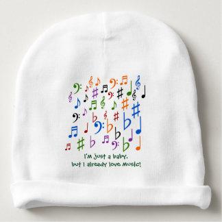 Ich bin gerade ein Baby, aber Liebemusik I Babymütze