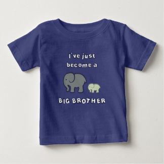 Ich bin gerade ein GROSSER BRUDER geworden Baby T-shirt