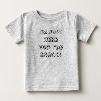 Ich bin gerade hier für den baby t-shirt