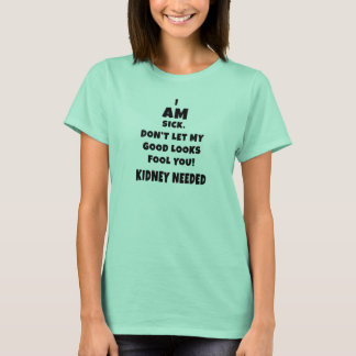 ICH BIN - helle Shirts krank